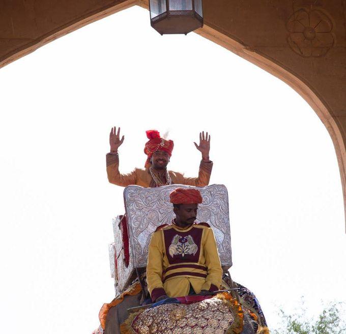 wedding at jaisalmer by Yesha Weddings Destination Wedding Planner - 006