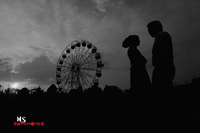 prewedding in black 'n white by HS Photoworks - 002
