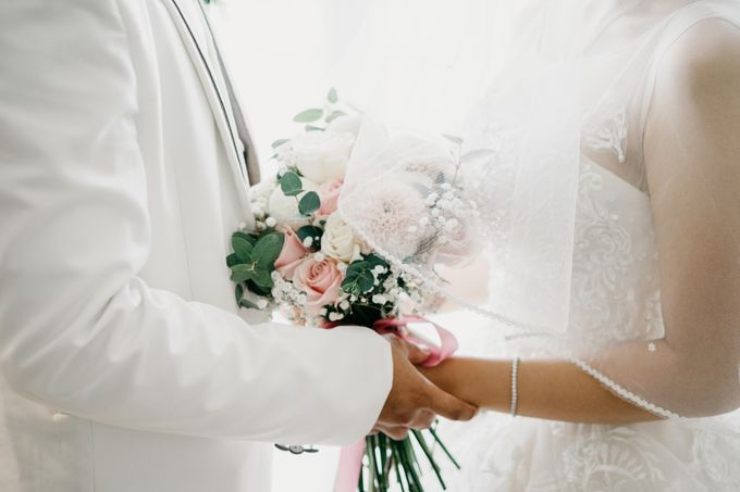 The Wedding of Bella & Ryan by Benoite Florist - 002