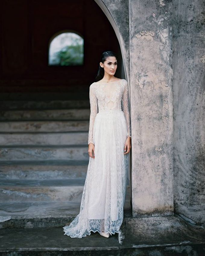 Oblivion from FLESH TO DUST Spring Summer 2015 Ready To Wear by isamare - 034