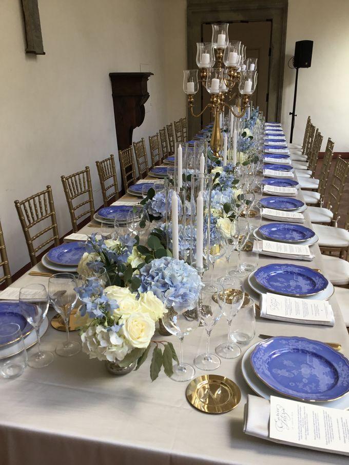 A blue wedding by C&G Wedding and Event Designer - 001