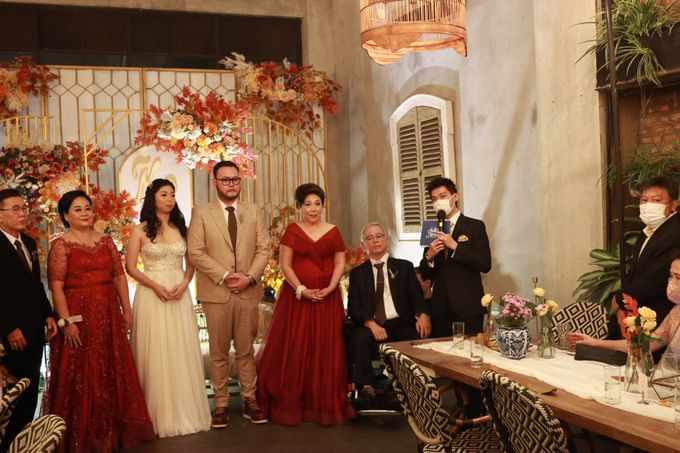 MC Wedding Intimate at Blue Jasmine Jakarta - Anthony Stevven by Anthony Stevven - 020