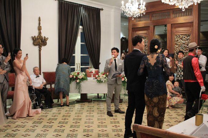 MC Wedding Intimate Plataran Menteng Jakarta - Anthony Stevven by Plataran Indonesia - 028