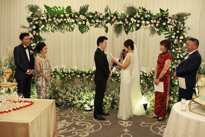 MC Wedding The Tribrata Dharmawangsa Hotel Jakarta - Anthony Stevven by Anthony Stevven - 016