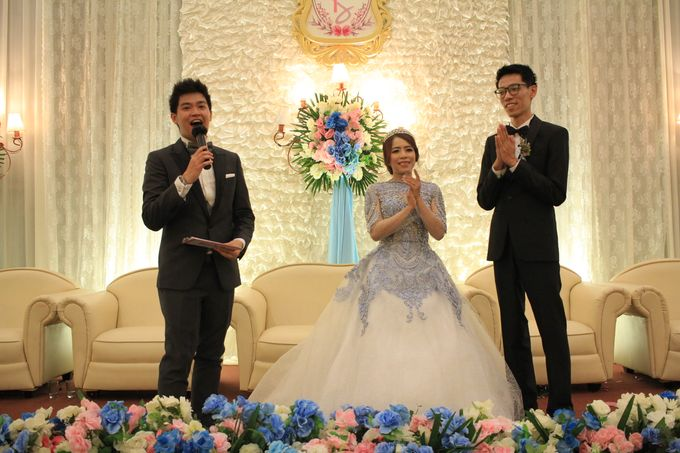 MC Wedding Prisma Ballroom Jakarta - Anthony Stevven by Tracy Bridal House - 010