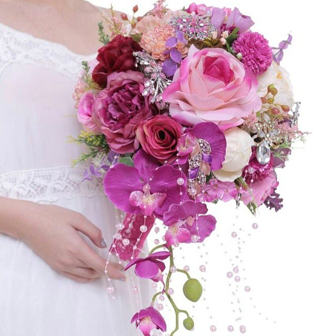 ENCHANTED WEDDING BOUQUET by LUX floral design - 020