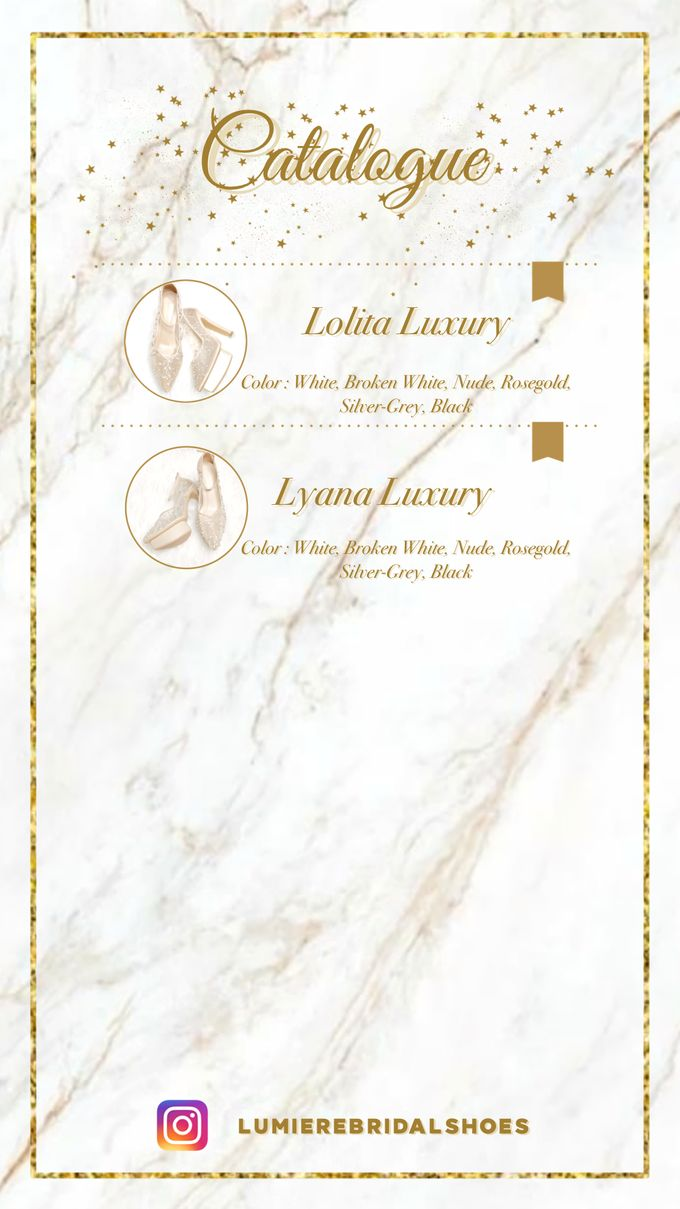 Catalogue by Lumiere Bridal Shoes - 010