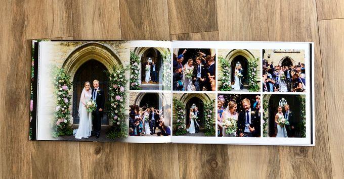 Modern wedding album by Bespoke Albums - 005