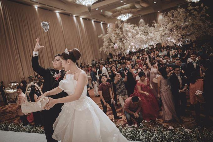 Anton & Cynthia Wedding Day by Mimi kwok makeup artist - 027