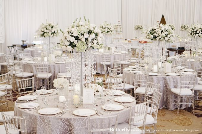 The Wedding of Hananto & Choerunissa by Butterfly Event Styling - 004