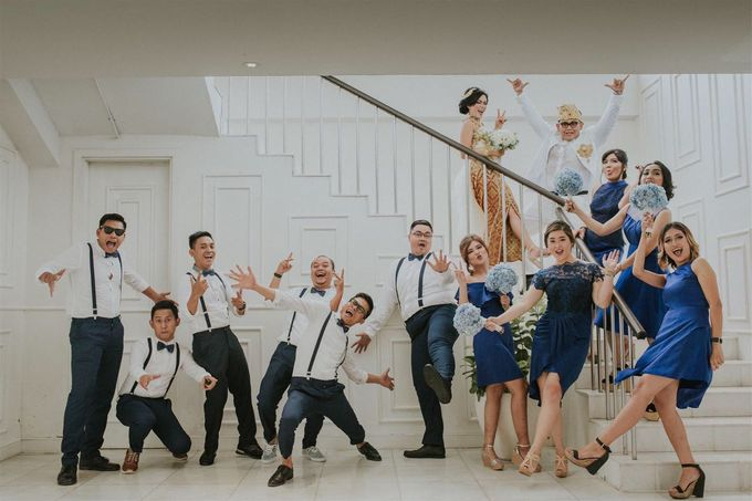 Nagisa Bali Wedding for Tiara & Adit by Nagisa Bali - 005