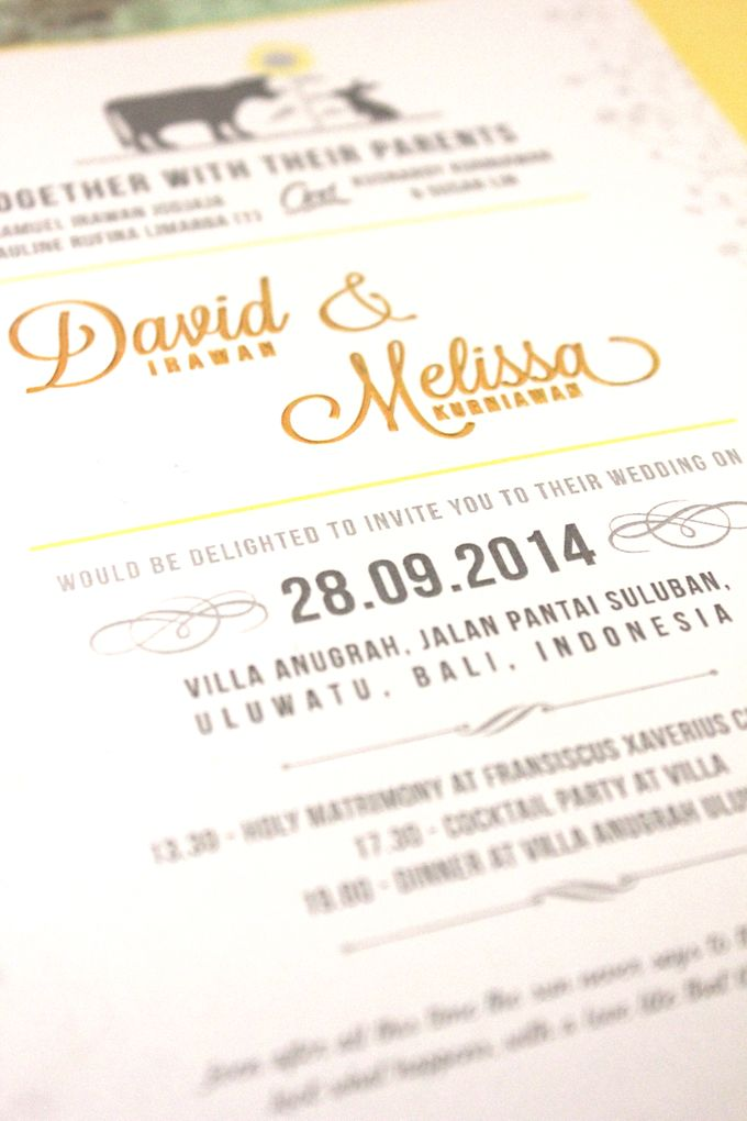 INVITATION - When Ox meets Rabbit by The Bride and Butter - 003