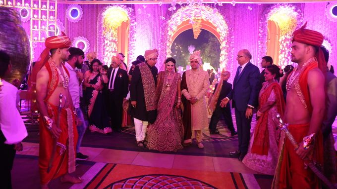 Bride Groom Entry & Entertainment by Xeel Events - 010