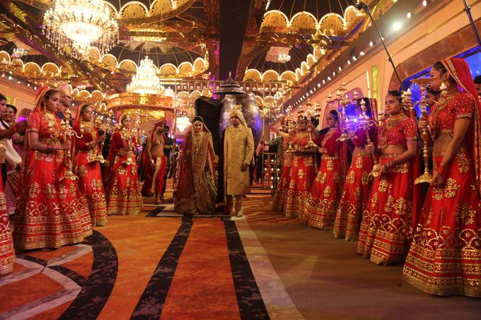 Bride Groom Entry & Entertainment by Xeel Events - 005