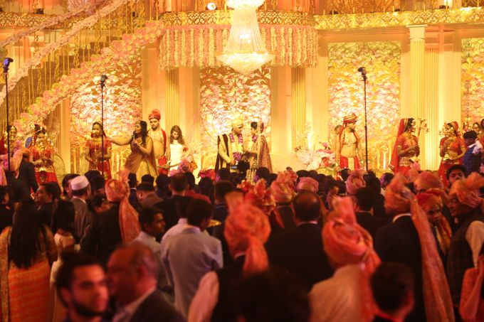 Bride Groom Entry & Entertainment by Xeel Events - 012
