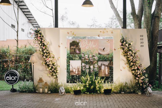 The Wedding of Monique & Gabriel by Elior Design - 007