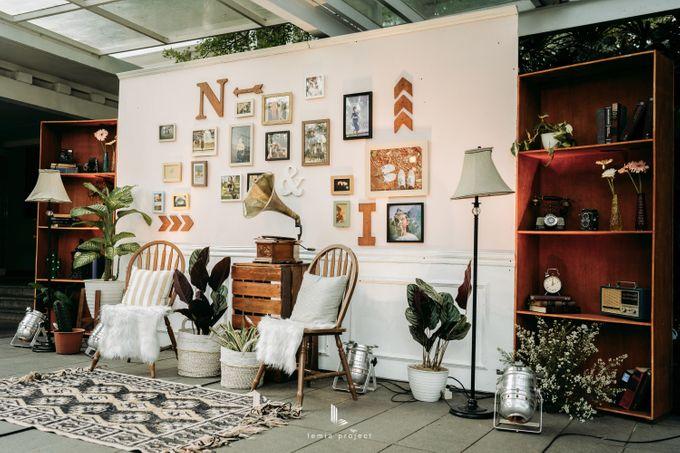 Wes Anderson Wedding Theme of of Nazura & Ichsan by Elior Design - 017