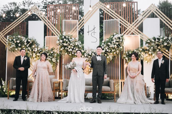 The Wedding of Henry and Stefanie by Elior Design - 010