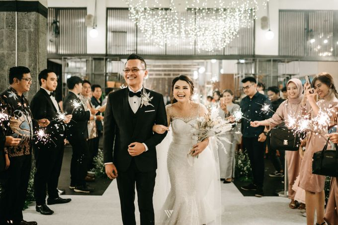The Wedding of Novilia & Didik by Elior Design - 007