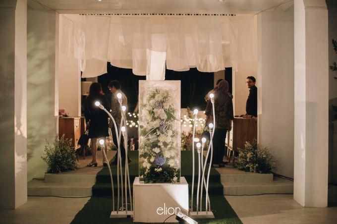 The Wedding of Nindya & Zenga by Elior Design - 011