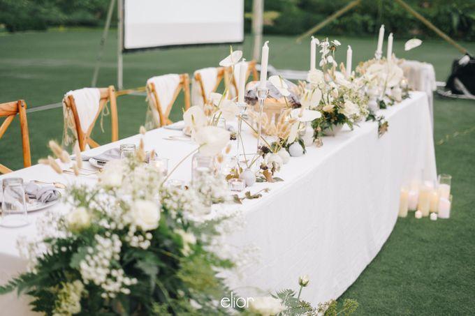 The Wedding Of David & Felicia by Elior Design - 013