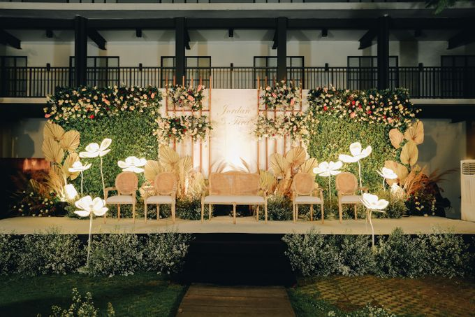 The Wedding of Fira & Jordan by Elior Design - 019
