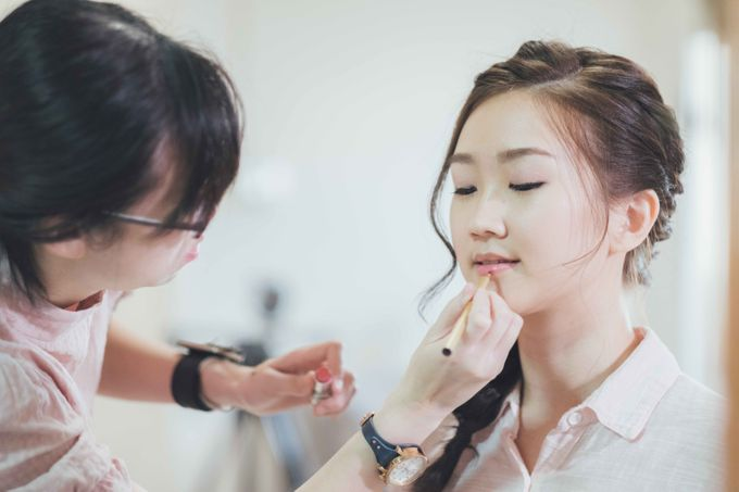 Behind the Scene of Rieka Actual Day by Ling's Palette - 002