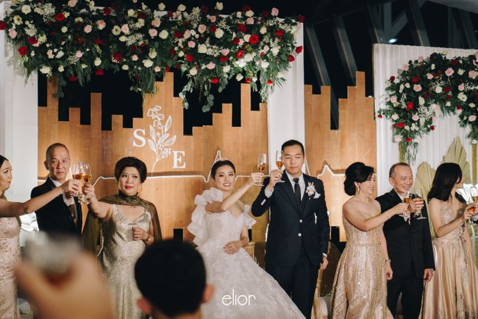 The Wedding of Steven & Evelyn by Elior Design - 011