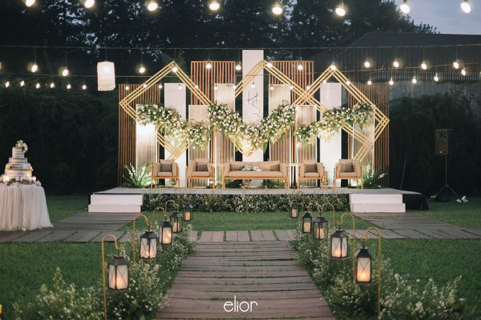 The Wedding of Henry and Stefanie by Elior Design - 011