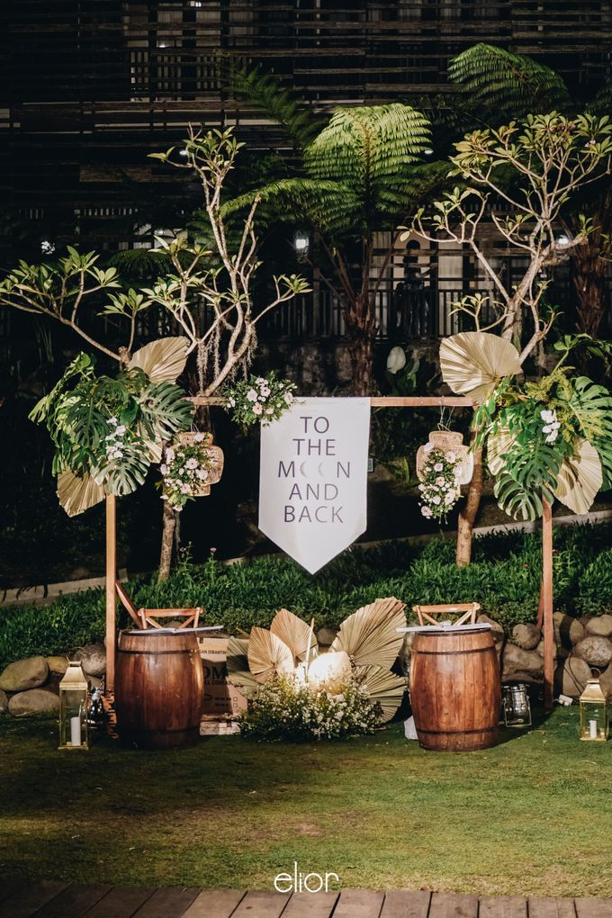 The Wedding of Lidia Dhany by Elior Design - 025