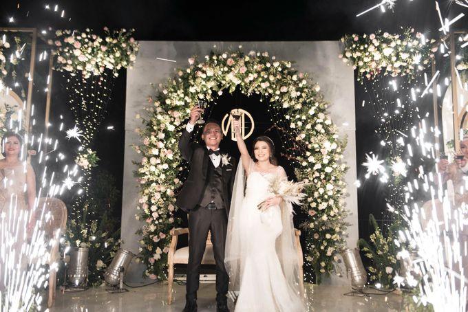 The Wedding of Novilia & Didik by Elior Design - 002