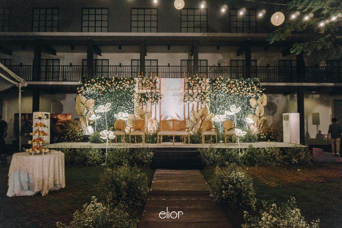 The Wedding of Fira & Jordan by Elior Design - 021