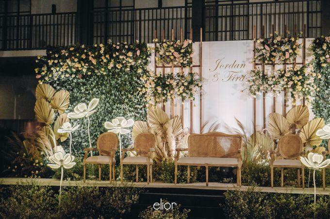 The Wedding of Fira & Jordan by Elior Design - 022