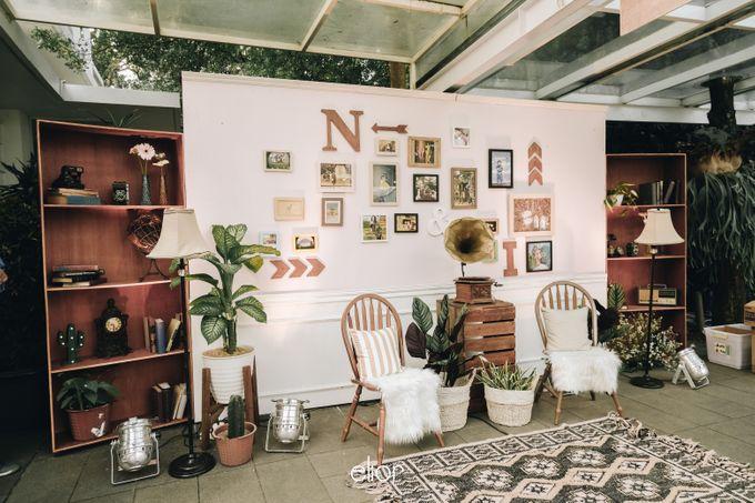 Wes Anderson Wedding Theme of of Nazura & Ichsan by Elior Design - 019
