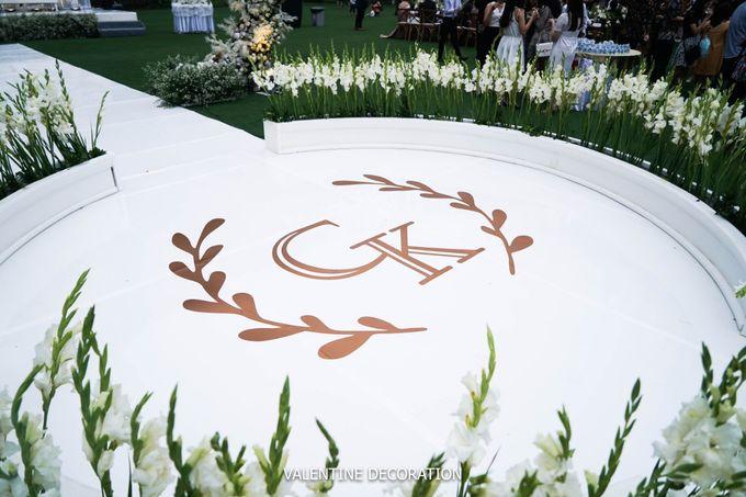 Grady & Kezia Wedding Decoration by Valentine Wedding Decoration - 007
