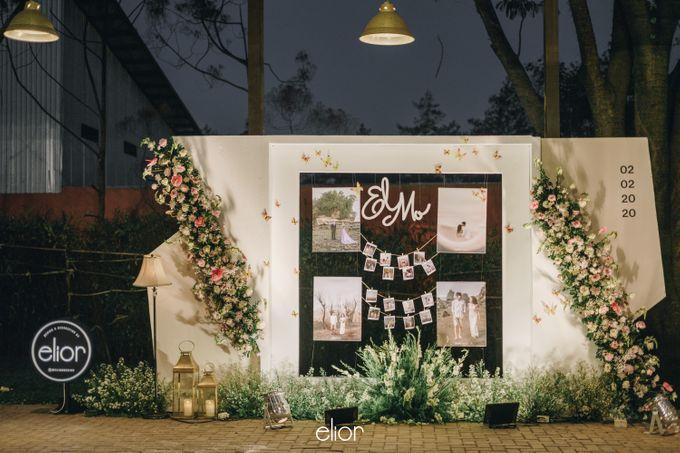 The Wedding of Monique & Gabriel by Elior Design - 008