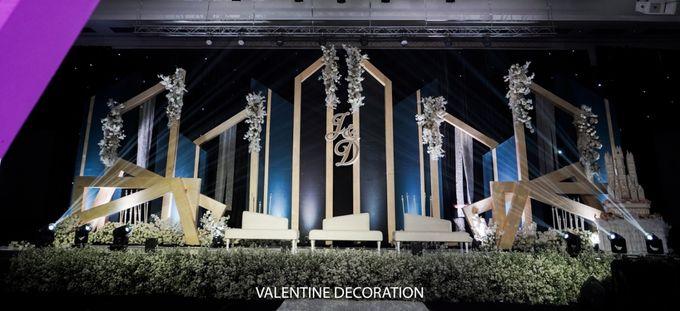 Jason & Devina Wedding Decoration by Valentine Wedding Decoration - 006