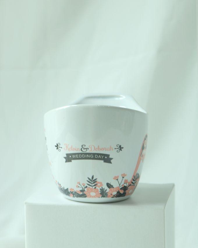 Mug Aladin by Mug-App Wedding Souvenir - 001