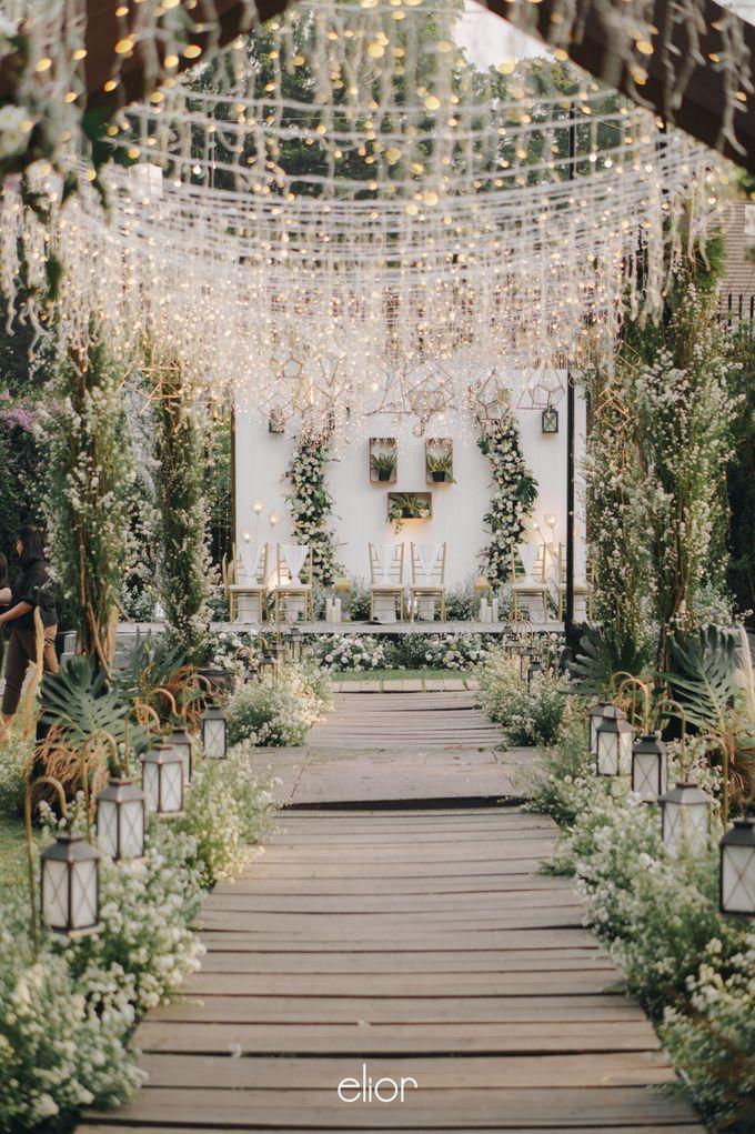 The Wedding of Stephan & Gabby by Elior Design - 017