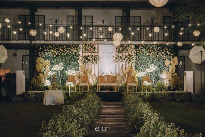 The Wedding of Fira & Jordan by Elior Design - 023