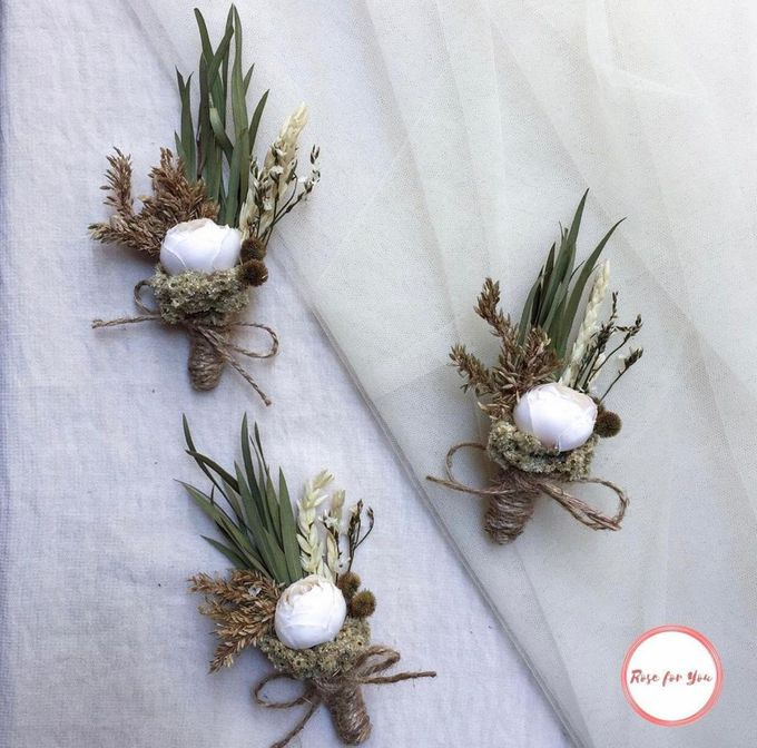 Boutonniere & Corsage by Rose For You - 007