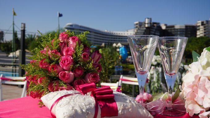 Wedding by the sea in Antalya -Lucy & Daniel- by Wedding City Antalya - 006