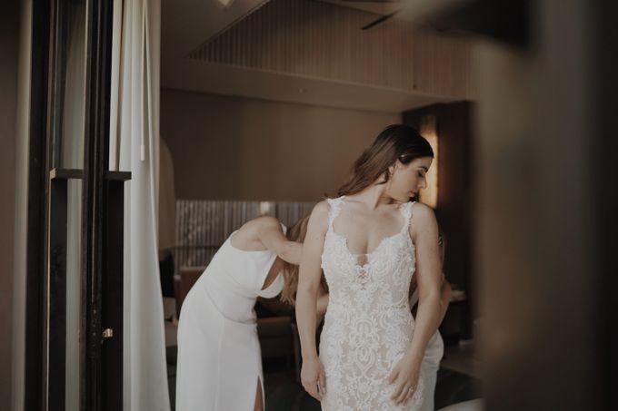 Mindy & Cameron Wedding at W Hotel Bali by AKSA Creative - 007