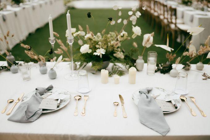 The Wedding Of David & Felicia by Elior Design - 015
