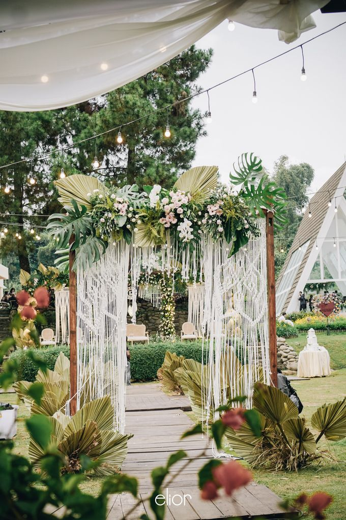 The Wedding of Lidia Dhany by Elior Design - 026