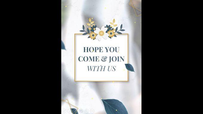 Undangan digital video pernikahan invitation 0203 by ADSA INVITATION - 007