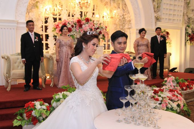 Wedding Party of Ardian and Moniah at Angke Restaurant by Angke Restaurant & Ballroom Jakarta - 009