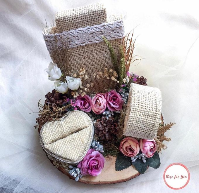 Ring Box by Rose For You - 007