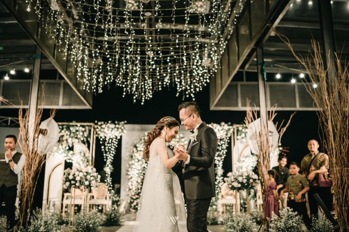 The Wedding of Novilia & Didik by Elior Design - 008