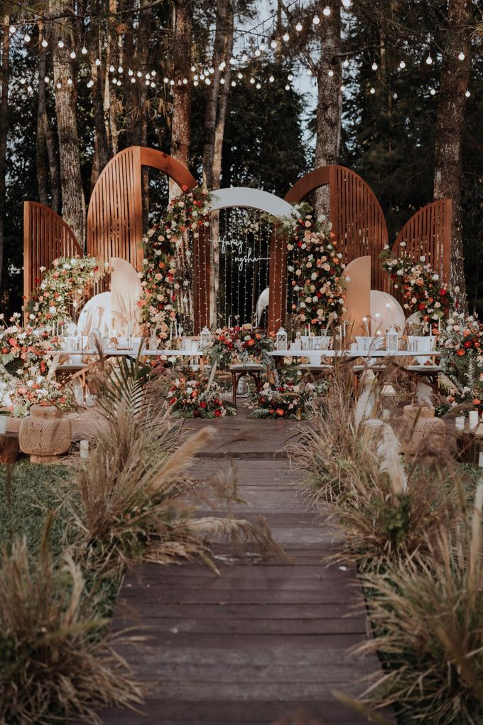 The Wedding of Nysha and Fariz by Elior Design - 029